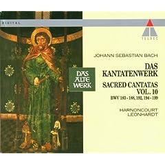 """Cantata No.186 �rgre Dich, O Seele, Nicht Bwv186 : VIII Aria - """"Die Armen Will Der Herr Umarmen"""" [Boy Soprano]"""
