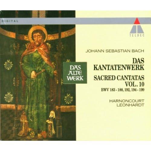 "Cantata No.186 Ärgre dich, o Seele, nicht BWV186 : V Aria - ""Mein Heiland lässt sich merken"" [Tenor]"