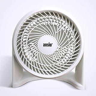 ANSIO Desk Fan/Wall Mounted Turbo Fan Personal Fan with 3 Speed Settings, 50 Watts, Ideal For Home, Office - ***2 Years Warranty***
