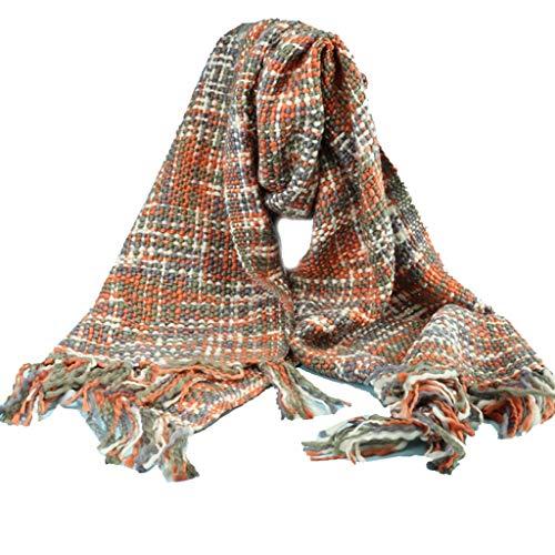 Nosterappou Foulard étudiant, châle, Contact Doux et Confortable, Excellent Cadeau, Artisanat Textile Doux, il est épais et Confortable pour Garder au Chaud, Foulard Coupe-Vent