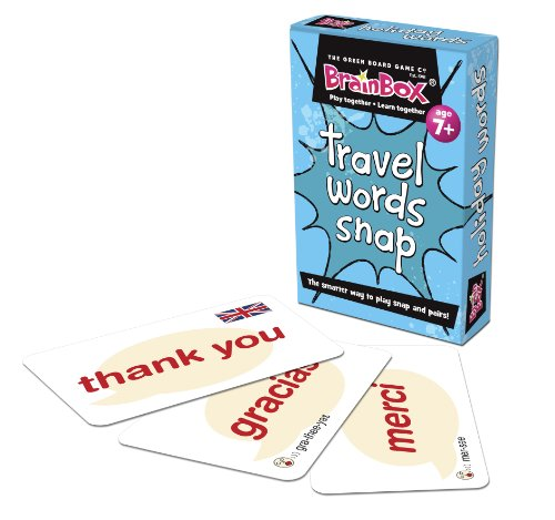Imagen principal de Green Board Games Holiday Words Snap - Juego educativo sobre idiomas (importado de Reino Unido)
