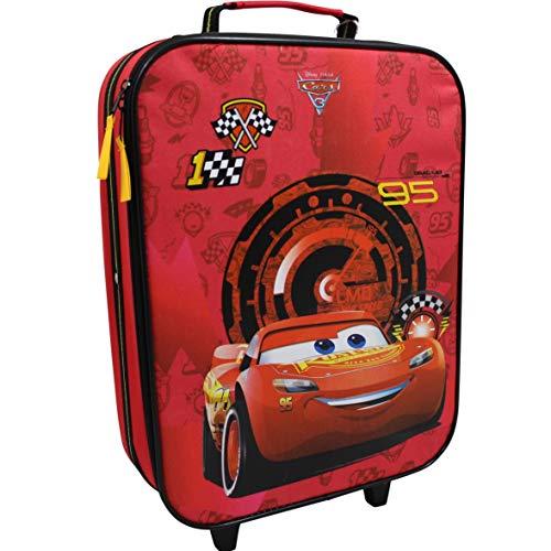 Disney Cars Koffer Trolley Kinderkoffer Reisekoffer Auto McQueen Handgepäck 8111