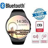 Supreno S600 Bluetooth Smart Watch With Sim Card Slot (GSM, Micro), TF/SD Card And 2MP Camera Support Compatible With Xiaomi Mi, Apple IPhone & IPad, Samsung, Sony, Lenovo, Oppo, Vivo And All Smartphones (1 Year Warranty, Assorted Colour)