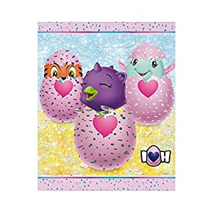 Unique Party 59313 Hatchimals - Bolsa de fiesta