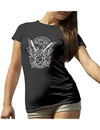 Eagles Of Death Metal BW New Logo T-Shirt camiseta para la Mujer