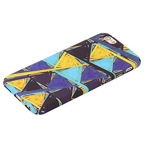 iPhone Case Cover Pour iPhone 6 & 6s décalques d'eau Couleur triangle motif de conception PC cas de protection ( SKU : Ip6g0134c ) Ip6g0134c