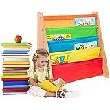 FiNeWaY@ Étagères de rangement en écharpe de grande qualité pour livres pour enfants à partir de 3 ans