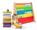 FiNeWaY @ Estante de almacenamiento de alta calidad para los libros de los niños, estantes colgantes para niños de más de 3 años