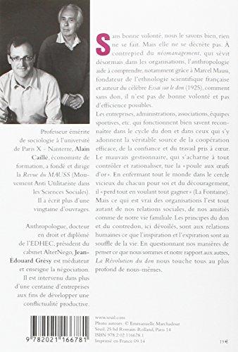 Book's Cover ofLa Révolution du don. Le management repensé à la lumière de l'anthropologie