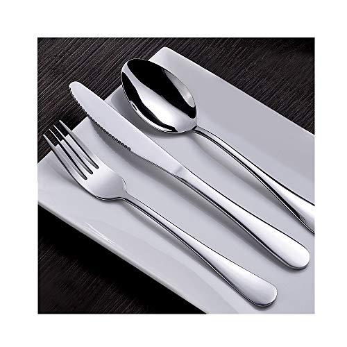ARRIS Besteck-Set, 3-teilig, Besteck-Set aus Edelstahl, Messer/Gabel/Löffel für Zuhause, Küche & Restaurant, mit Geschenketui (Drei Besteck-set Teiliges)