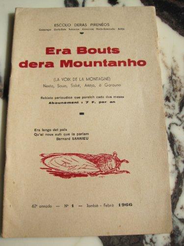 La voix de la montagne. revue bilingue de escolo deras pireneos. 62e annado n°2-3. par Era Bouts Dera Mountanho