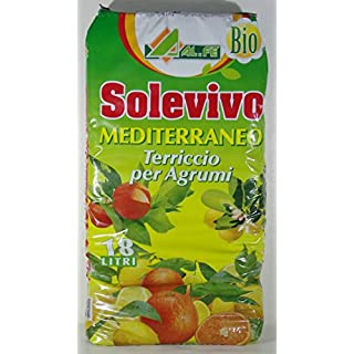 ALFE Soil for Citrus solevivo Mediterranean Pack of 18Litre