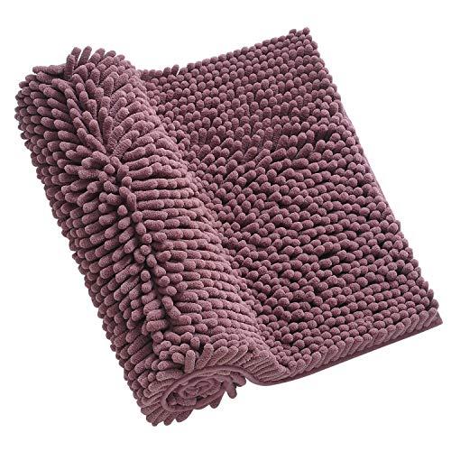 Xiyunte extra lungo tappetini per il bagno - 50×120cm lussuoso ciniglia morbidi tappeti e tappetini, tappeti da bagno zerbino, tappeti lavabili in lavatrice per soggiorno, bagno, cucina