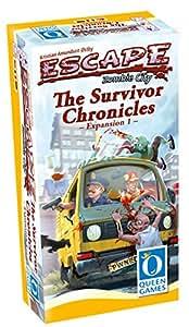"""Queen Jeux 25684,5cm Escape Zombie City The Survivor Chronicles multilingue """"Jeu"""