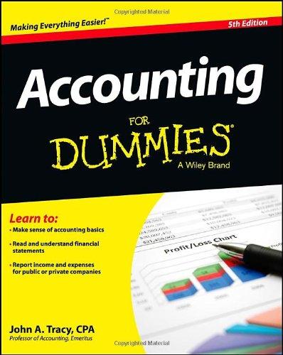 Accounting For Dummies por John A. Tracy