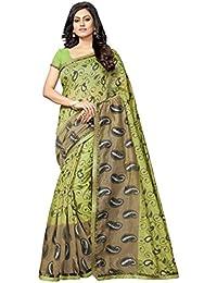 Vastrang Sarees Cotton Saree With Blouse Piece