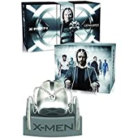X-Men Cerebro Collection (7 Films) - 8-Disc Box Set and Replica Helmet ( X-Men / X-Men 2 (X2) / X-Men: The Last Stand / X-Men Origins: Wolve