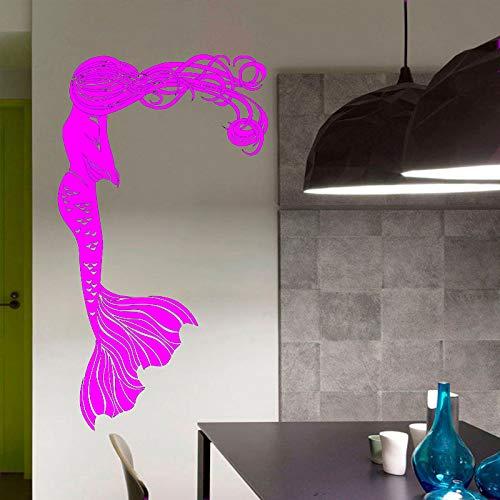 zqyjhkou Cartoon Charakter Entfernbare Wandaufkleber Für Badezimmer Mode Wohnkultur Mädchen Vinyl Wandtattoos Schlafzimmer Wandbilder 4 57X100 cm