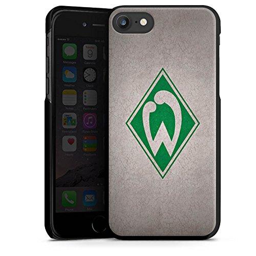 Apple iPhone 7 Hülle Case Handyhülle SV Werder Bremen Fanartikel Merchandise Fußball Hard Case schwarz
