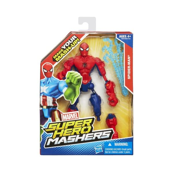 Marvel Super Hero Mashers Spider-Man Figure 6 Inches 2