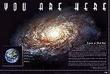 empireposter - Educational - Bildung - You Are Here - Größe (cm), ca. 91,5x61 - Poster, NEU - Text auf Englisch