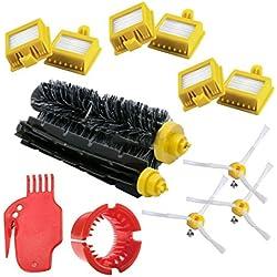 REFURBISHHOUSE pour IRobot Roomba Series 700 Kit de Remplacement 760 770 772 774 775 776 780 782 785 786 790 - Accessoires, filtres et brosses