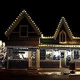 Lichternetz Weihnachten warmweiß für Außen mit 300 LEDs 1.6x4.6