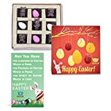 #6: BOGATCHI Chocolate Eggs and Bunnies, Easter Eggs and Bunnies, Bunnies and Eggs for Easter Celebrations, 9 pcs+ FREE - Easter Greeting Card
