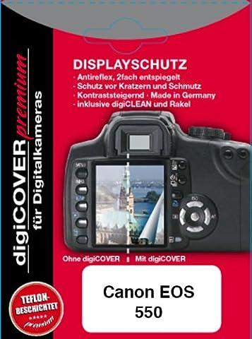 DigiCover Protection d'écran premium pour Canon EOS 550