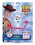 MTW Toys 64472 - Actionfigur zu Disney Pixar Toy Story 4 - Forkie, bewegliche Figur mit Rückzugsmotor, ca. 15 cm