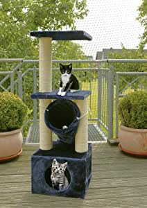 katzenschutznetz mit spannseil f r balkon und terrasse. Black Bedroom Furniture Sets. Home Design Ideas