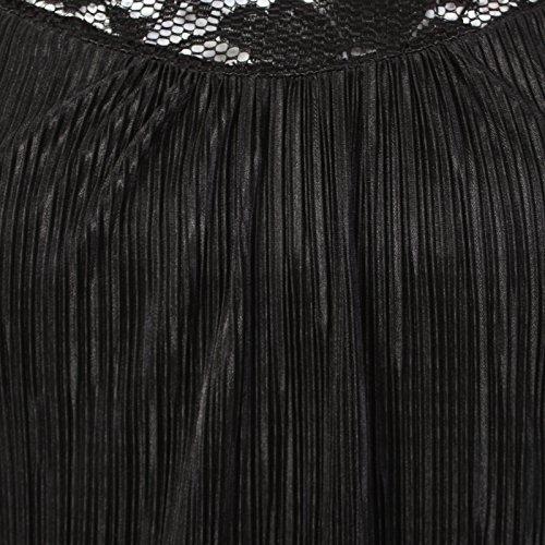 Kiah -  Vestito  - Sera  - Senza maniche  - Donna nero - nero