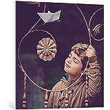 """Cuadro en lienzo: Evelina Petkova """"sweet dreams"""" - Impresión artística de alta calidad, lienzo en bastidor, 80x80 cm"""