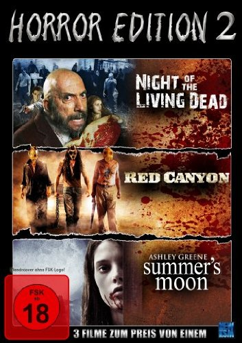 Preisvergleich Produktbild Horror Edition 2 (Night Of The Living Dead / Red Canyon / Summer's Moon) [Collector's Edition]
