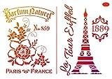 Schablone'Paris', DIN A4