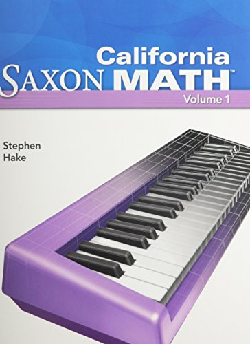 PREPAK-CA SAXON MATH 2V por Stephen Hake