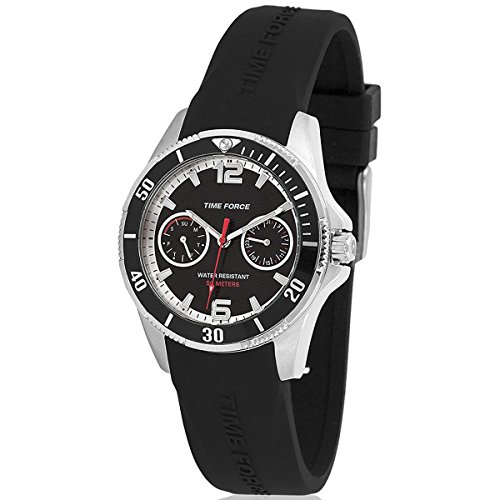 TIME FORCE TF-4110B01 Reloj para Chico, con Calendario