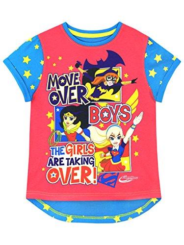 DC Comics - Camiseta para niñas - DC SuperHero - 6 - 7...