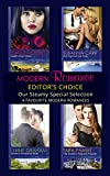 Modern Romance February 2016 Editor's Choice: Leonetti's Housekeeper Bride / The Sheikh's Pregnant Prisoner / Castelli's Virgin Widow / Illicit Night with the Greek