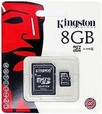 Mr Cartridge KINGSTON MICRO SD 8GB CLASSE 4 CON ADATTATORE