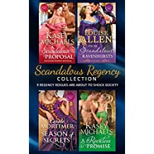 Scandalous Regency Secrets Collection (Mills & Boon e-Book Collections) (The Little Season)