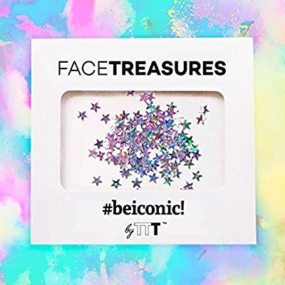 Stars holographic glitter for Face and Body - Face Glitter stick Face & Body Glitter Jewels Beauty Body Art Festival Birthday