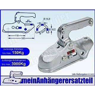 ALBE Berndes Zugkugelkupplung Kugelkupplung Zugrohr 50mm 51mm EM 300 R B 056502 für Pkw Anhänger