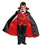 Kinderkostüm Kleiner Vampir Gr. 116 - 164 Blutsauger Fledermaus Halloween Fasching Karneval 140