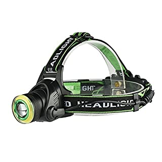 Etbotu USB Charging T6 Strong Light Headlamp Long Shot Head Light for Outdoor Activity Hunting Fishing