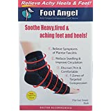 Foot Angel Plantar Fasciitis Compression Sleeves Relieves Heel Pain Provides Arch Support Ankle Support Compression...