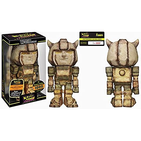 Distressed Bumblebee Premium Hikari Sofubi Figure Limited Edition of Only 1,000 Pieces!!! by Transformers