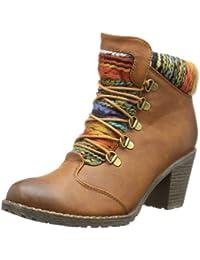 Rieker 95323-22 Damen Halbschaft Stiefel