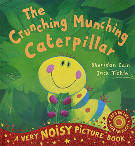 The Crunching Munching Caterpillar Cover Image