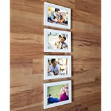 Art Street Hanging Photo Frame Pearl Drop- Set Of 4